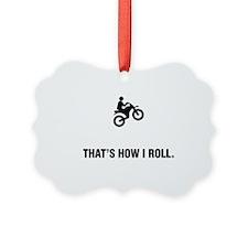Dirt-Biking-ABG1 Ornament