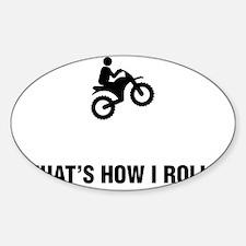 Dirt-Biking-ABG1 Sticker (Oval)