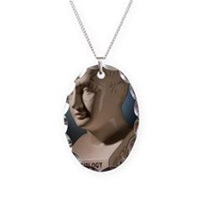 Phrenology bust by L.N. Fowler Necklace