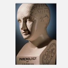 Phrenology bust by L.N. F Postcards (Package of 8)