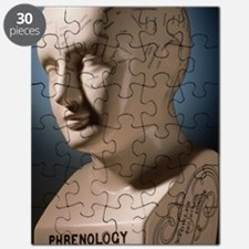 Phrenology bust by L.N. Fowler Puzzle