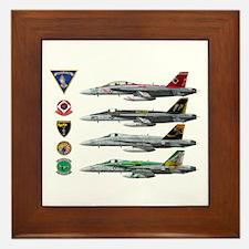Carrier Air Wing FIVE Framed Tile