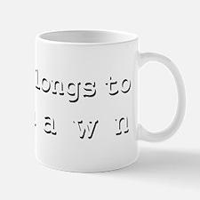 My Heart Belongs To Deshawn Mug