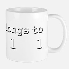 My Heart Belongs To Dell Mug