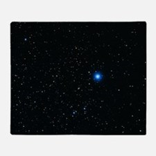 Photograph of the constellation Lyra Throw Blanket