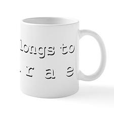 My Heart Belongs To Desirae Small Mug