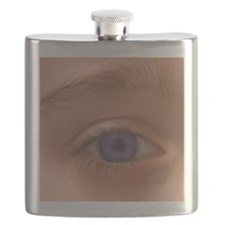 Pixellated eye Flask