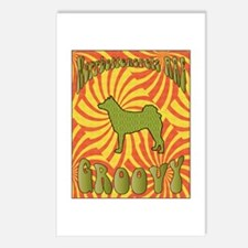Groovy Norrbottenspets Postcards (Package of 8)