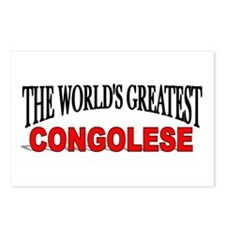 """""""The World's Greatest Congolese"""" Postcards (Packag"""