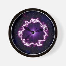 Planetary nebula Wall Clock