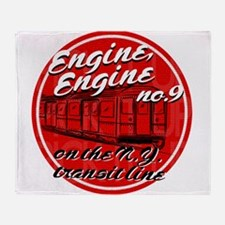 Engine Engine No. 9 Throw Blanket