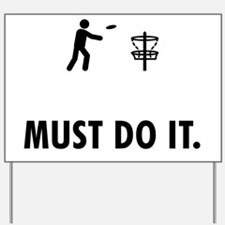 Disk-Golf-AAW1 Yard Sign