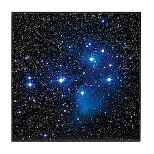 Pleiades star cluster Tile Coaster