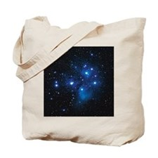 Pleiades star cluster Tote Bag