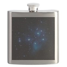 Pleiades star cluster Flask