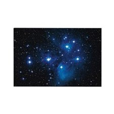 Pleiades star cluster Rectangle Magnet