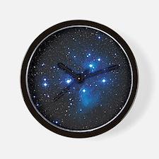 Pleiades star cluster Wall Clock