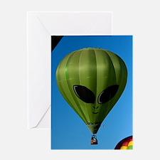 (10) Balloons Shape   6244 Greeting Card