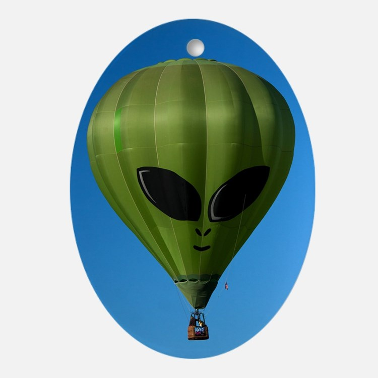 (10) Balloons Shape   6244 Oval Ornament
