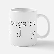 My Heart Belongs To Mindy Mug