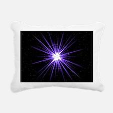 Pulsar Rectangular Canvas Pillow