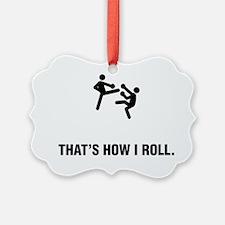 Kickboxing-ABG1 Ornament