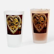 Clockwork Heart Drinking Glass