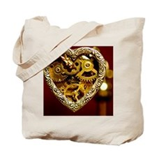 Clockwork Heart Tote Bag