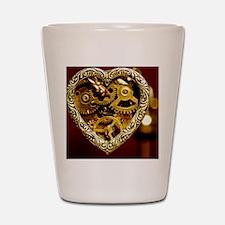 Clockwork Heart Shot Glass