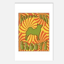 Groovy Buhunds Postcards (Package of 8)