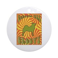 Groovy Buhunds Ornament (Round)