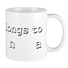My Heart Belongs To Nana Mug