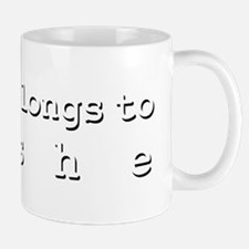 My Heart Belongs To Moshe Mug