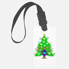 Christmas Hanukkah Interfaith Luggage Tag