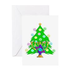 Christmas Hanukkah Interfaith Greeting Card