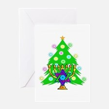 Christmas Hanukkah Interfaith Greeting Card