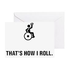 Wheelchair-Rugby-ABG1 Greeting Card