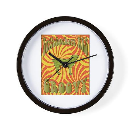 Groovy Entlebucher Wall Clock