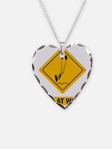Kitesurfing-ABB1 Necklace Heart Charm