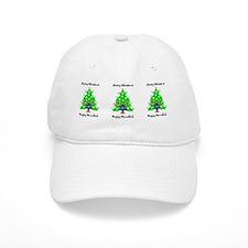 Christmas Hanukkah Interfaith Baseball Cap