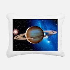 Saturn Rectangular Canvas Pillow