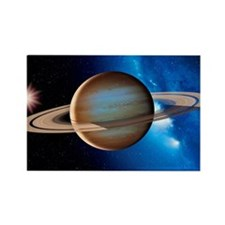Saturn Rectangle Magnet