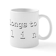 My Heart Belongs To Evelin Mug