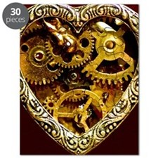 Clockwork Heart 10x10 Puzzle