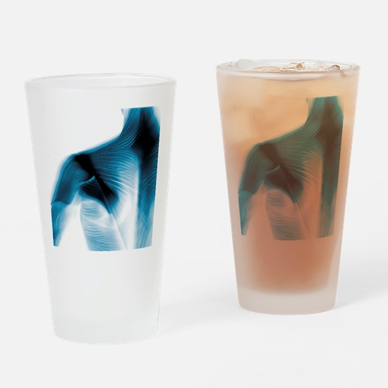 Shoulder muscles Drinking Glass