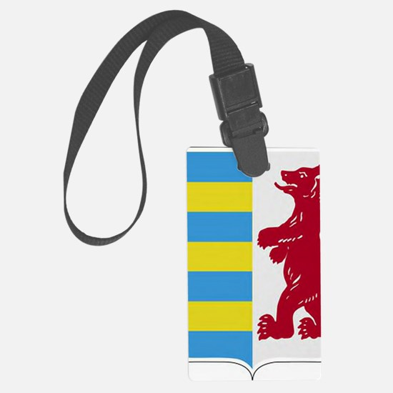 Rusyn Emblem (car flag) Luggage Tag
