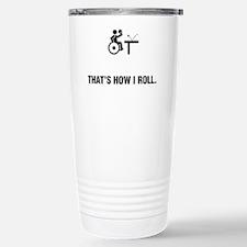 Wheelchair-Table-Tennis Travel Mug