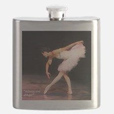 """alone on stage"" Flask"