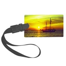 key west at sunset Luggage Tag