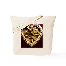 steampunk clockwork heart iphone case Tote Bag